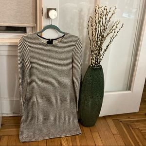 Banana Republic Striped Sweater Dress Size 6